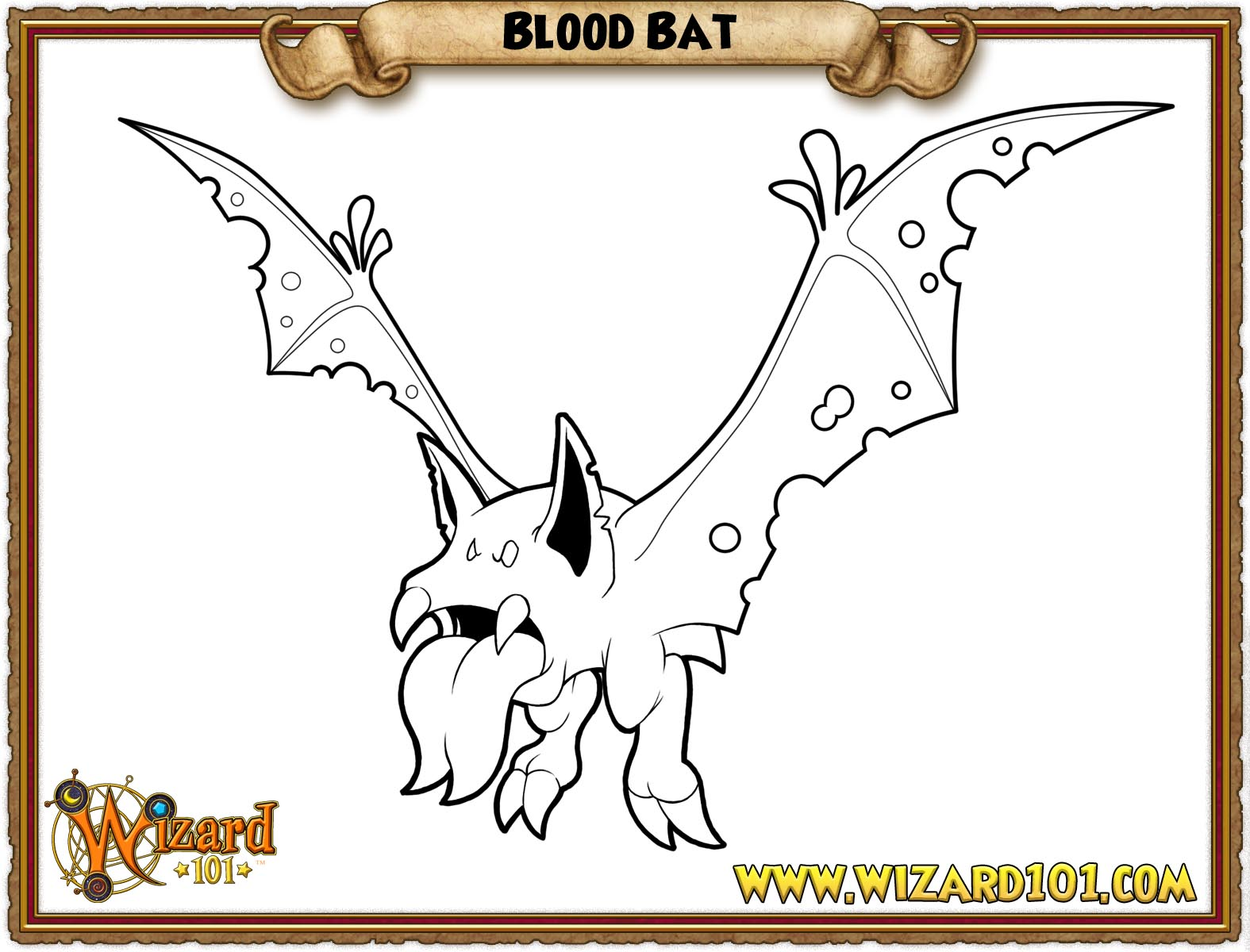 wizard101 printable coloring pages - photo#41