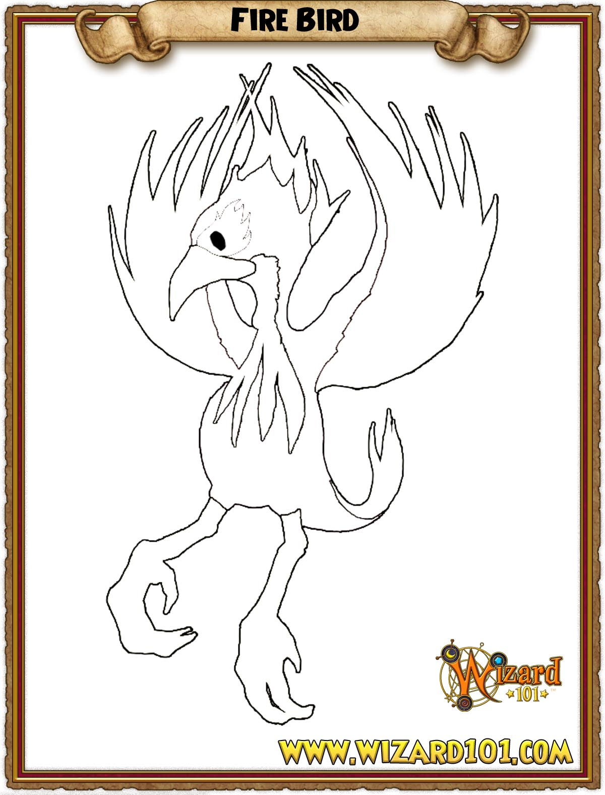 wizard101 printable coloring pages - photo#20