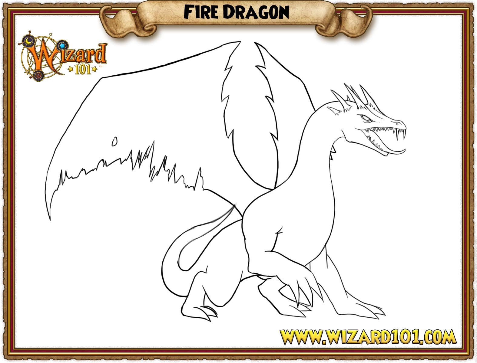 wizard101 printable coloring pages - photo#4