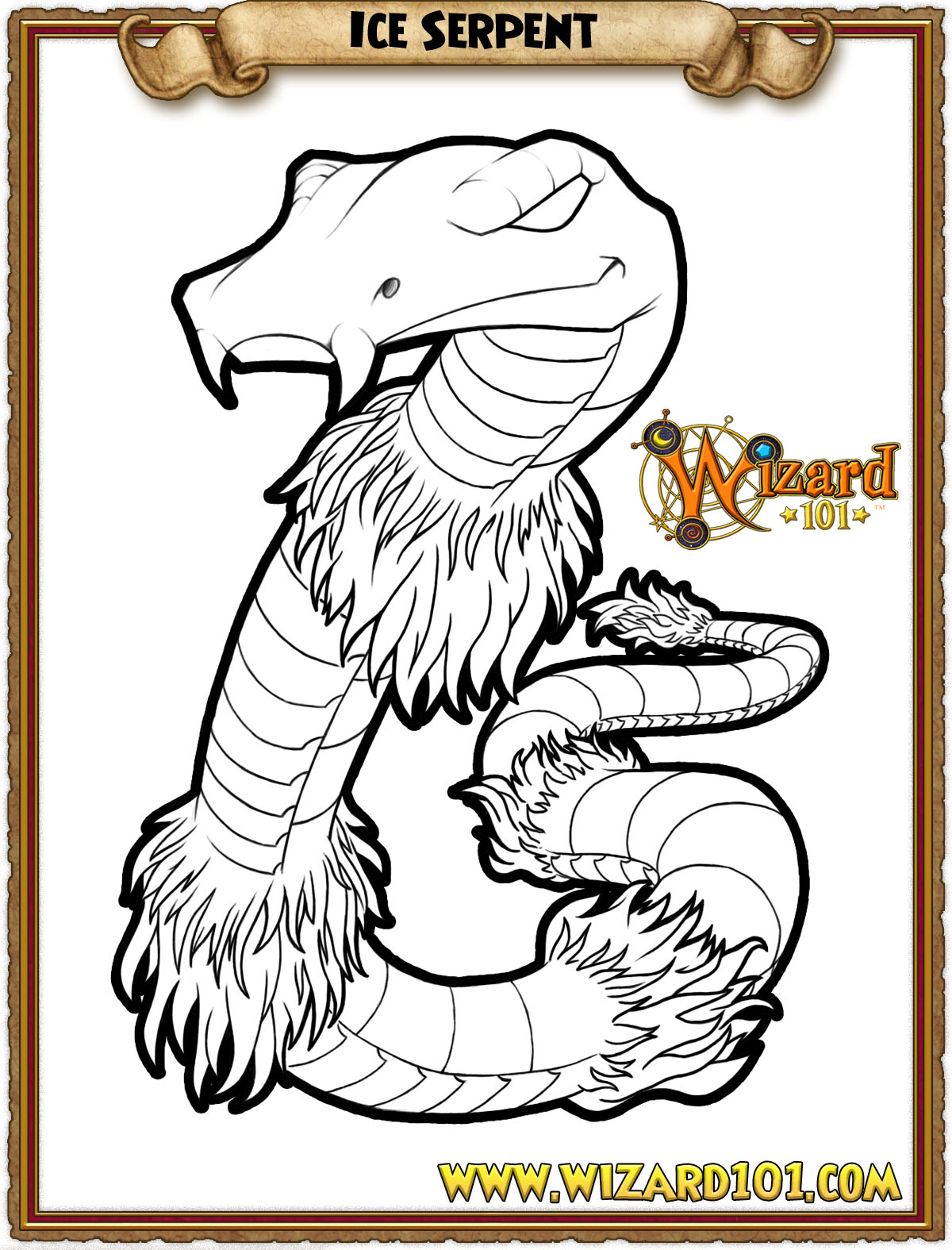wizard101 printable coloring pages - photo#11