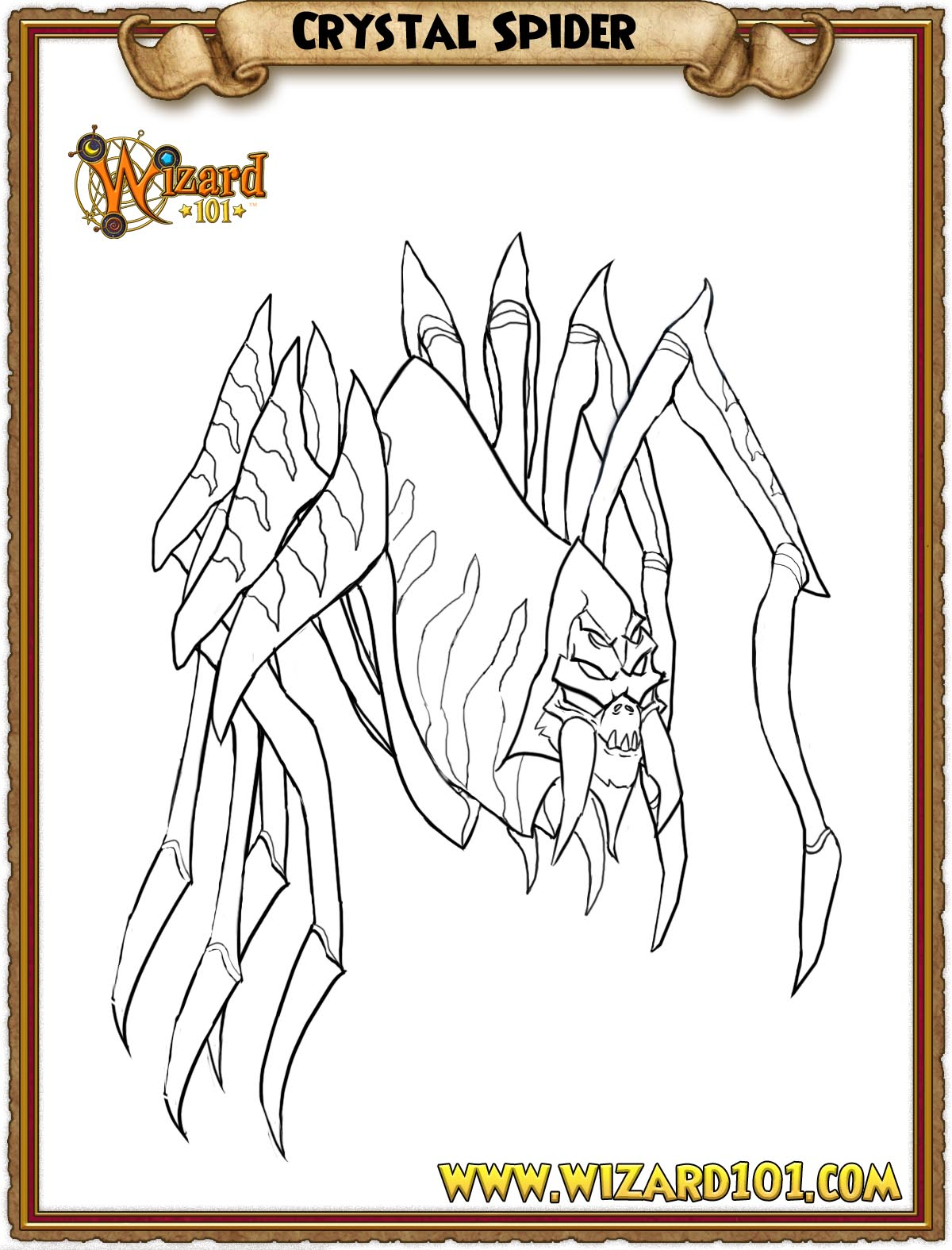 wizard101 printable coloring pages - photo#25