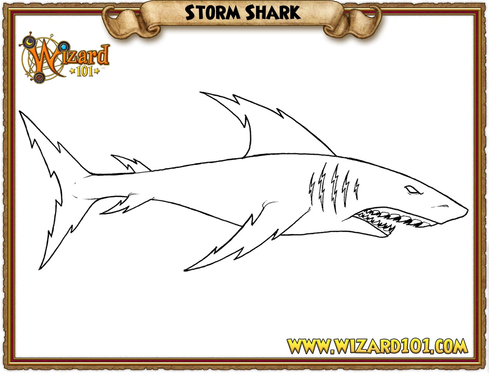 wizard101 printable coloring pages - photo#30