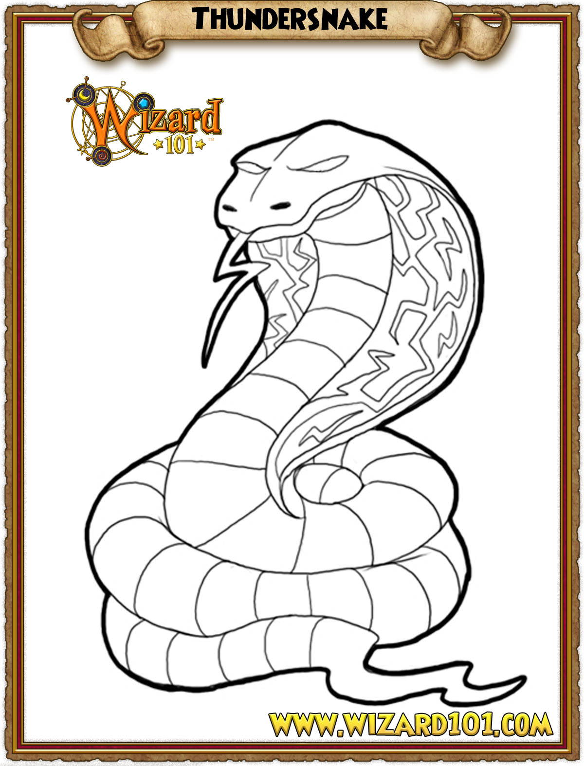 wizard101 printable coloring pages - photo#12